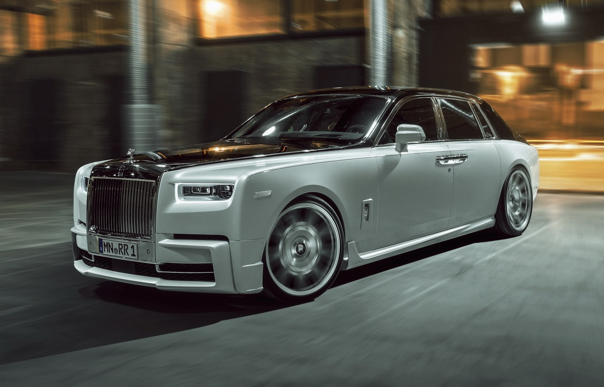 Tuned Rolls-Royce Phantom 8