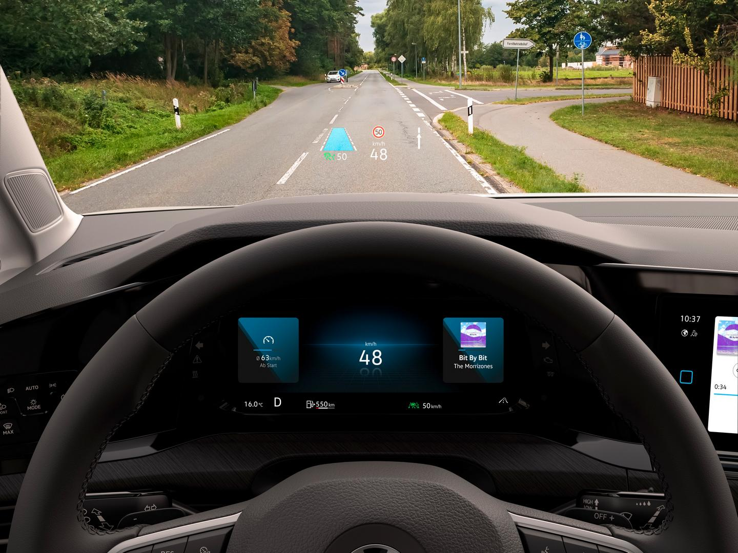 VW GOLF 8 Heads up Display
