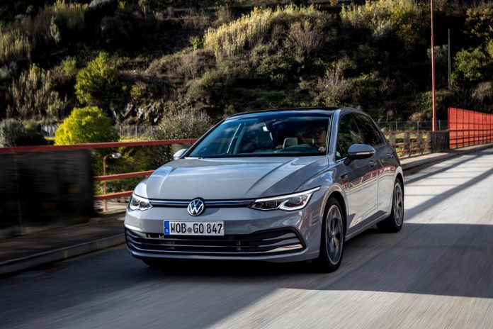 VW GOLF 8 Top Speed